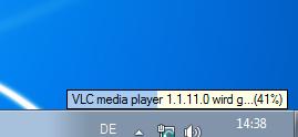 App-V lädt VLC