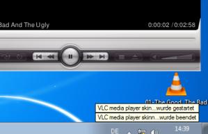 VLC gestartet