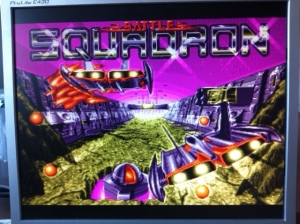 Battle Squadron Titlescreen