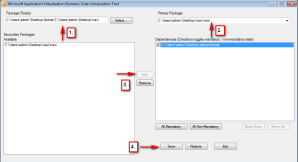 Microsoft das Dynamic Suite Composition Tool