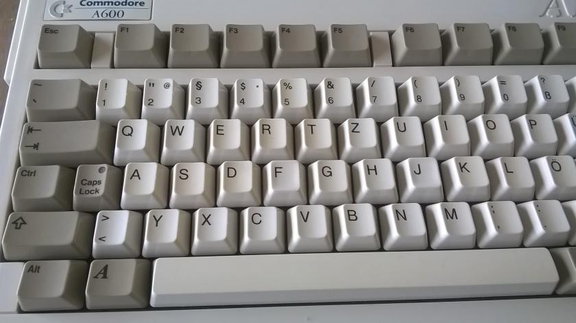 Gereinigte Tastatur.