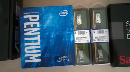 Intel G4400 Pentium und Kingston ECC RAM (2x 8GB)