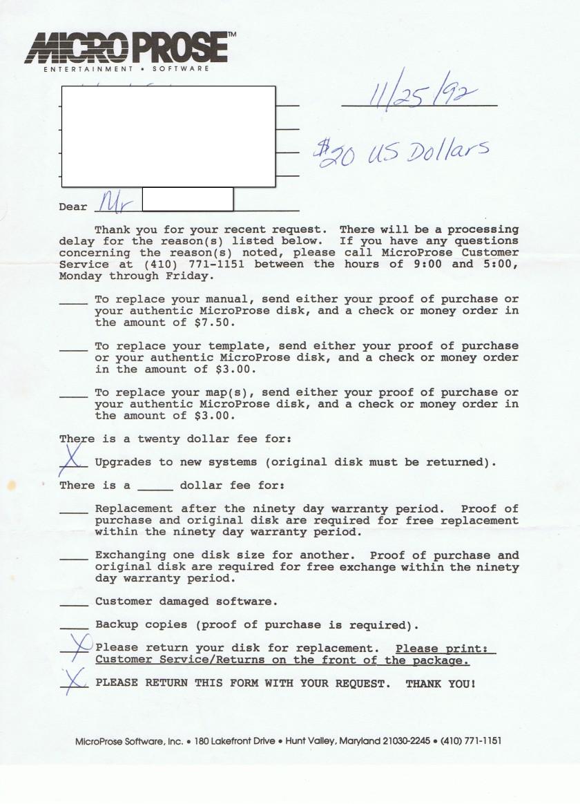 Microprose formular