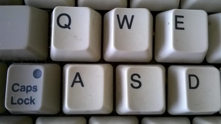 Amiga 1200 Tastatur - Detailansicht