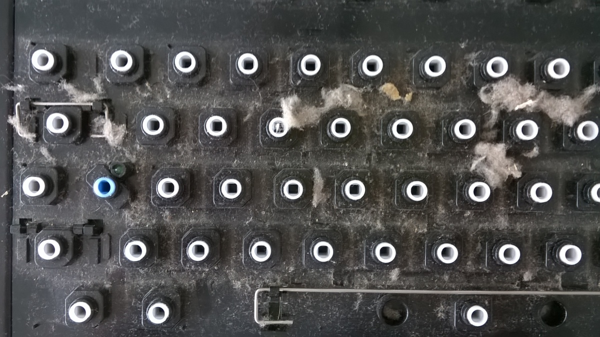 Amiga 1200 – Tastaturreinigen
