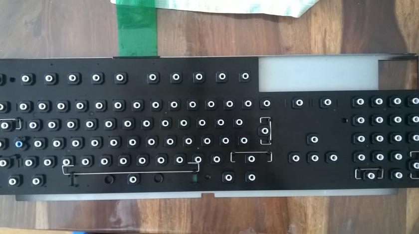 Amiga 1200 Tastatur - nur noch die Tasten aufsetzen und fertig