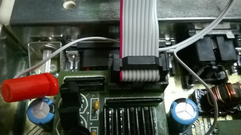 8 PINS VGA-Buche, 2 PINS RGB Port